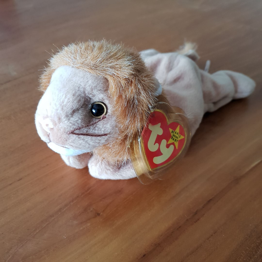 ed1ca2c1728 6pcs Avail. GENUINE TY BEANIE BABY - Roary The Lion. Brand new. Mint ...