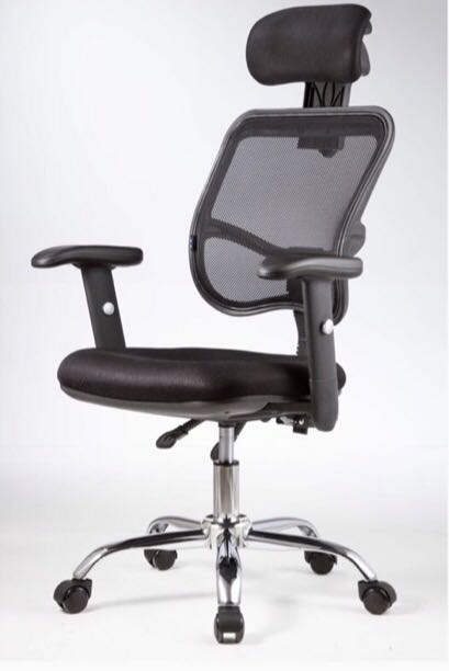 Excellent Adjustable Arms Mesh Office Chair J24 Home Interior And Landscaping Transignezvosmurscom