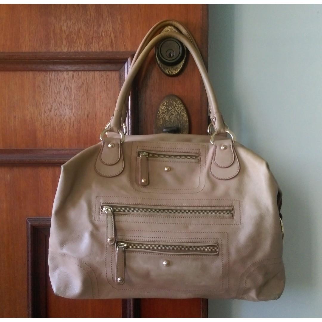 f18749ff95 Authentic Tod s Beige Designer Bag