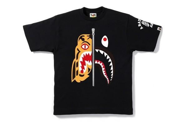 efe887a3 SALE!! Bape Tiger Shark Tee / Shirt, Men's Fashion, Clothes, Tops on ...