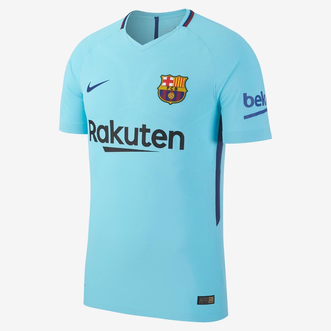 8b228c50c56 Barcelona Away Jersey 2017 2018 Authentic - Youth XL