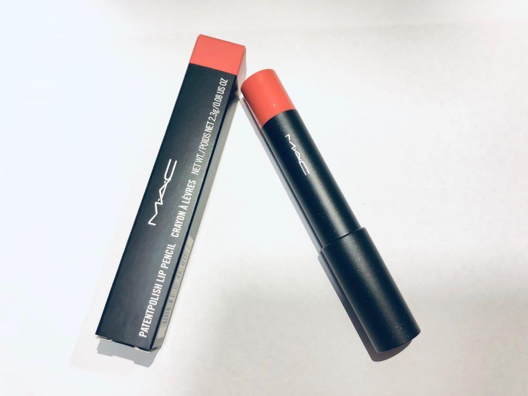 7ced9405fc8 BNIB MAC PatentPolish Lip Pencil - Revved Up, Health & Beauty ...