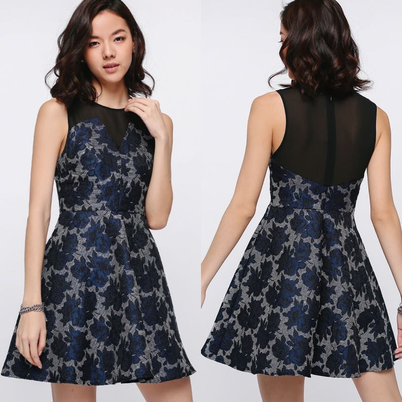 bdc97bed0d8f BNWT Love Bonito Relki Jacquard Dress, Women's Fashion, Clothes ...