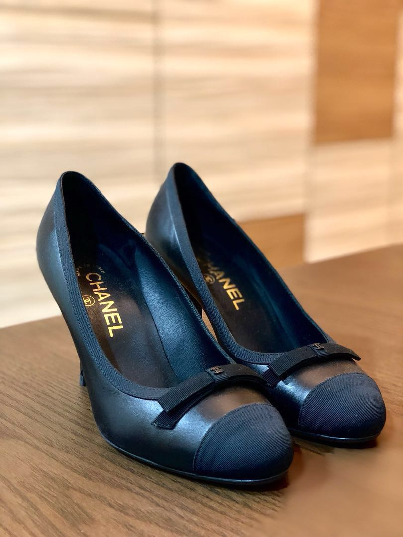 95f05aaae5d8 Brand New Chanel Classic Black Pumps 37, Women's Fashion, Shoes, Heels on  Carousell