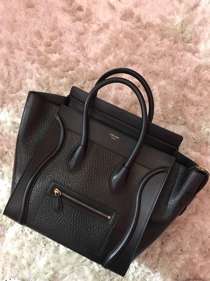 Celine Mini Luggage Tote, Luxury, Bags   Wallets, Handbags on Carousell fc81c6c2a7