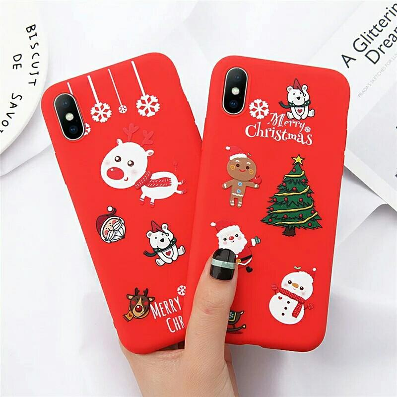 Christmas phone case iPhone 6 6s 7 8 Plus X XR XS 5 5S SE
