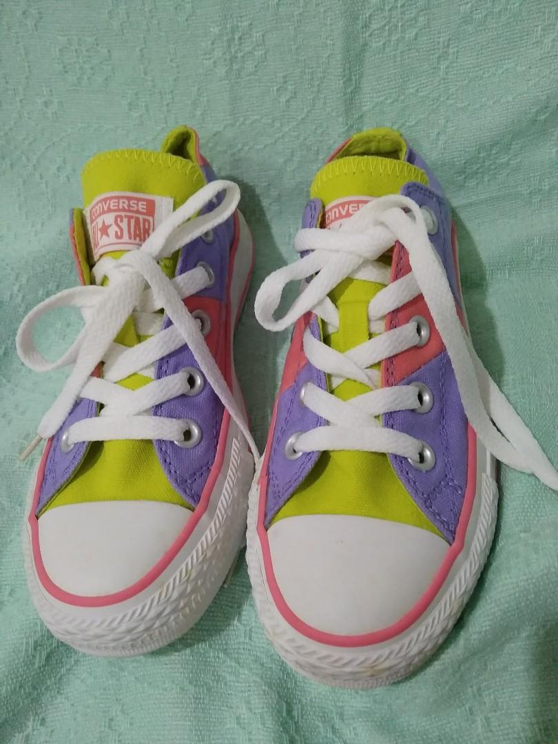 9e0e88f859f5 Converse Multicolor Low Cut Shoes