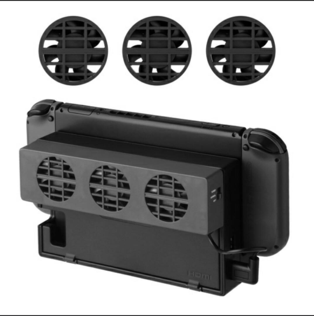 Cooling fan for Nintendo switch high efficiency and low noise usb cooler