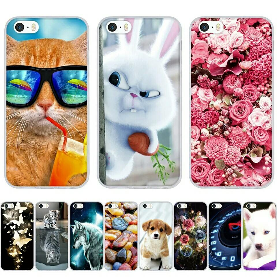 Cute3d phone case iPhone 5 5S Silicon iPhone 5 5S SE P