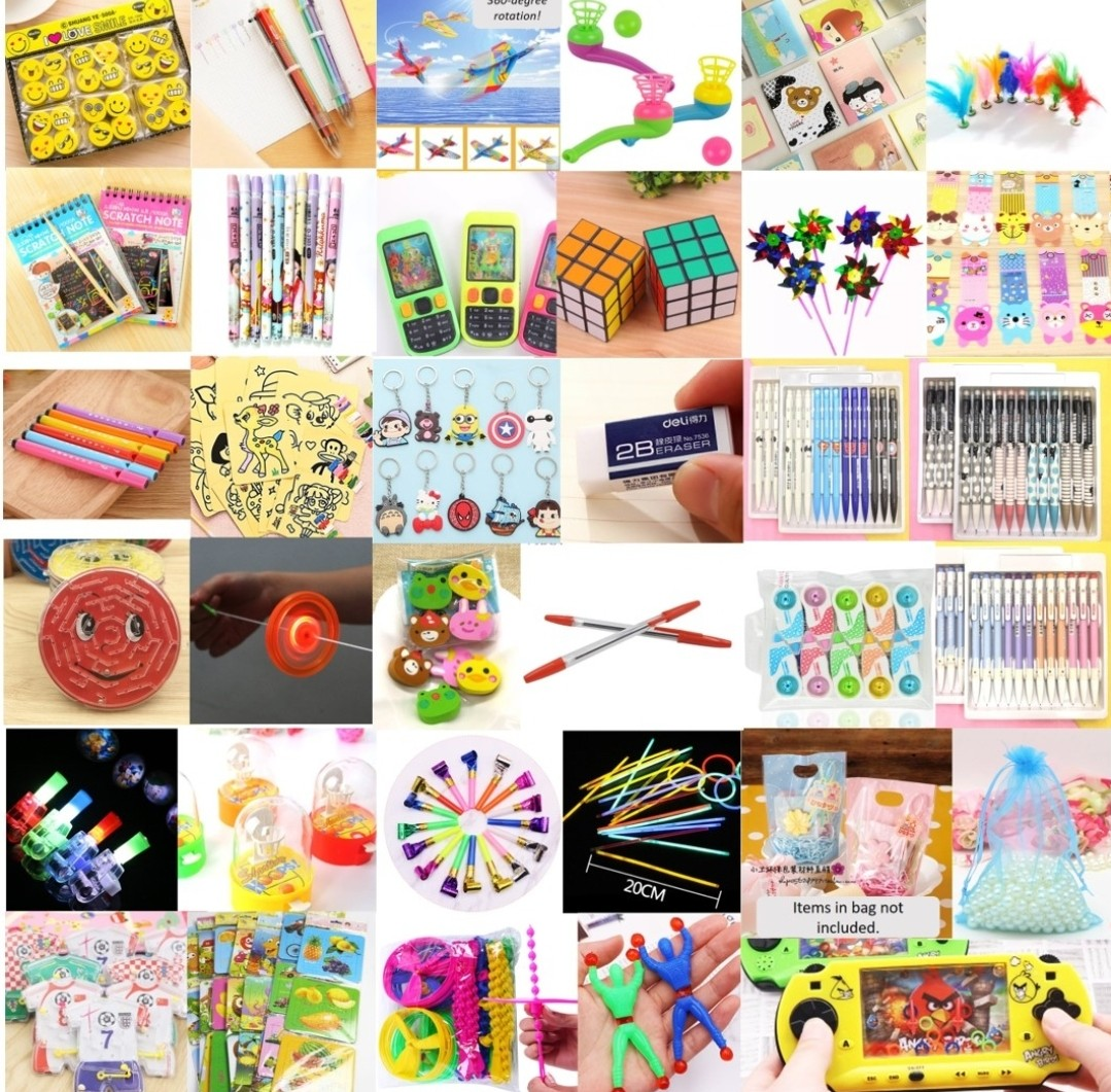 Goodie Bag Toys Gifts Christmas Birthday Party Carnival Stationery