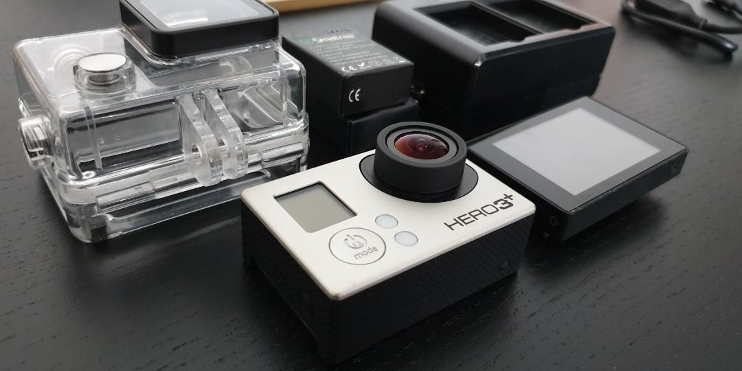 GoPro 3+ Silver. Whole set