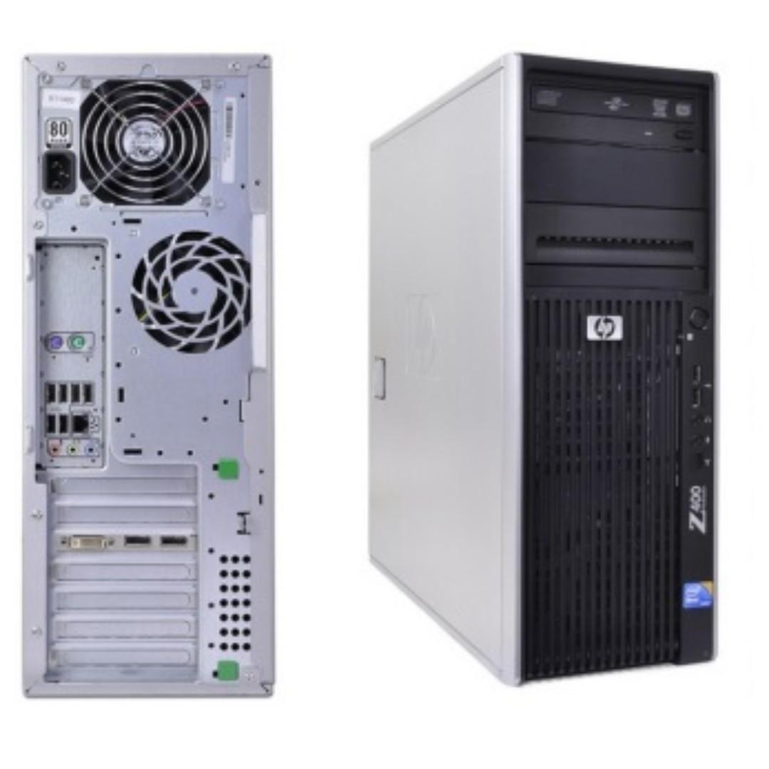 HP Z400 Workstation, Electronics, Computers, Desktops on