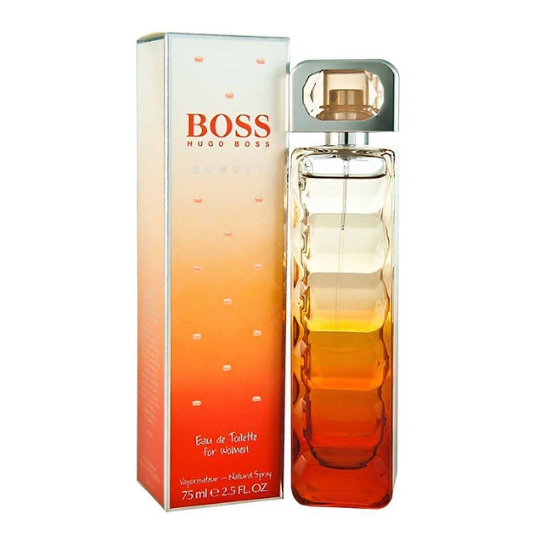 Hugo Boss Orange Sunset Edt For Women 75ml Health Beauty