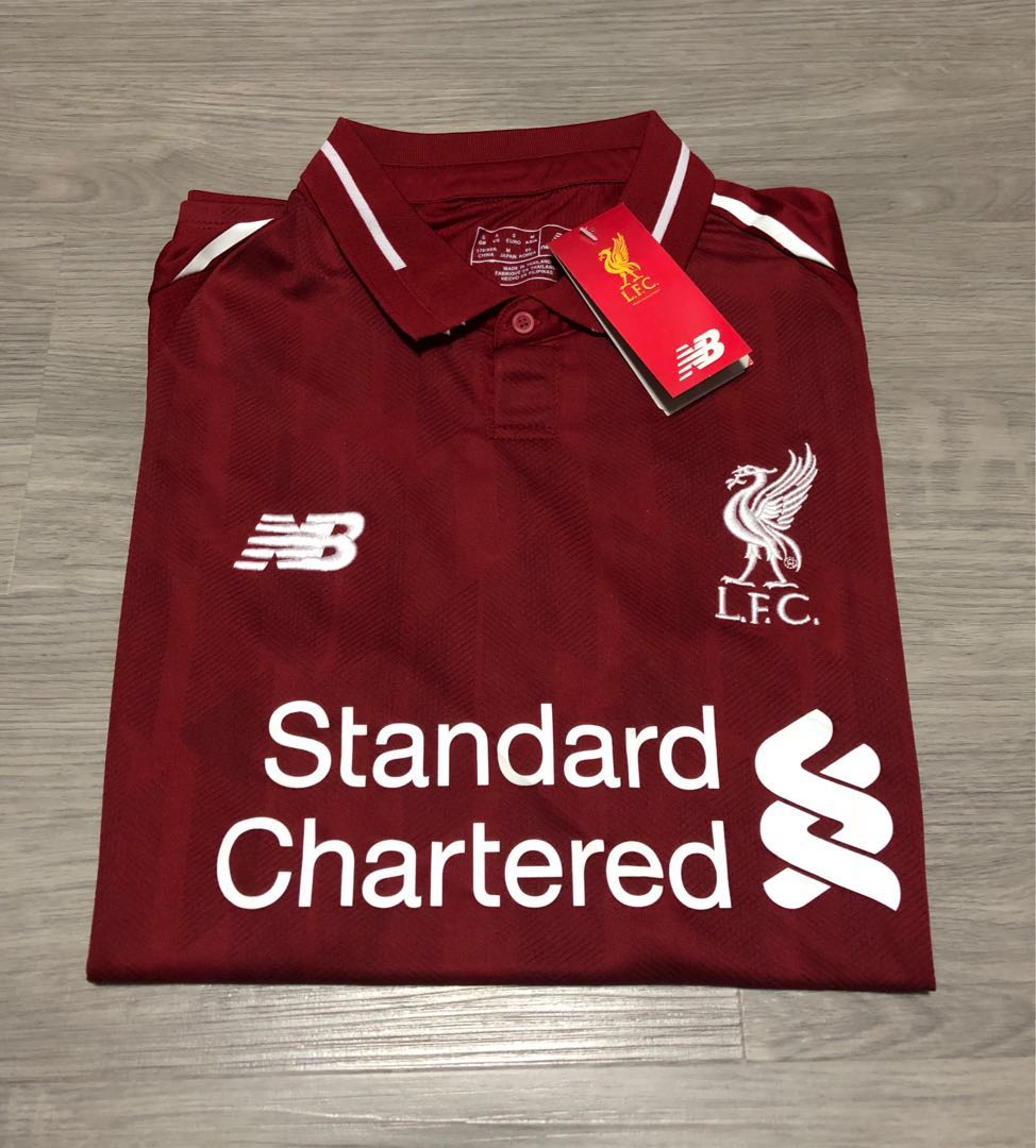d8ea80d69 Liverpool Home Jersey 2018   2019