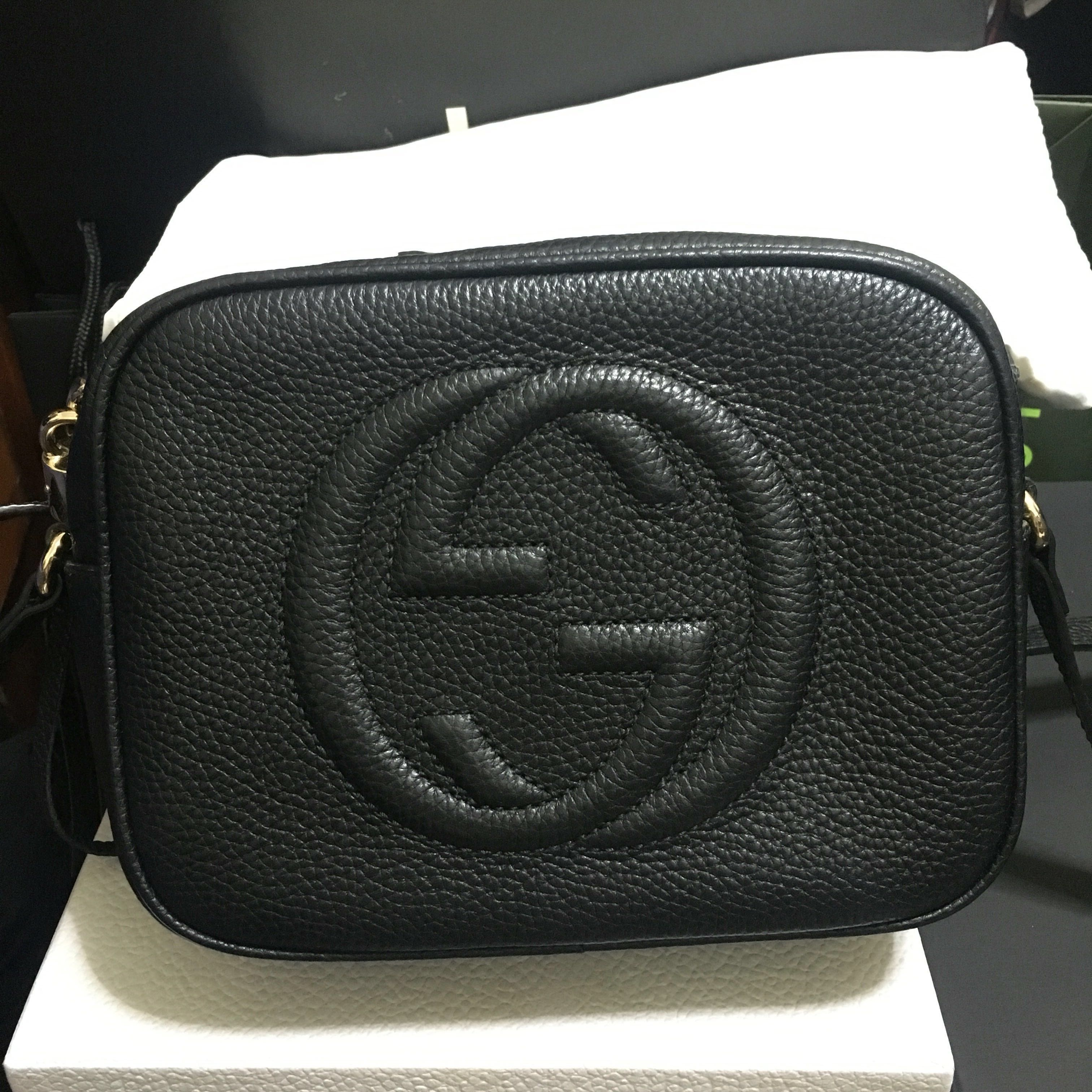 993c5e112f38 LN Gucci Soho Disco Tassel Black, Luxury, Bags & Wallets, Handbags ...