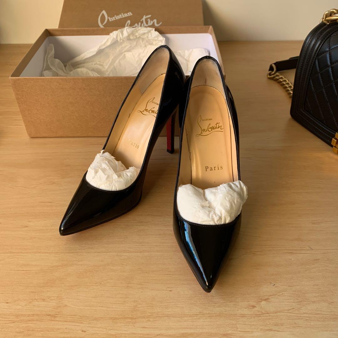 Louboutin Pigalle 100mm size 36