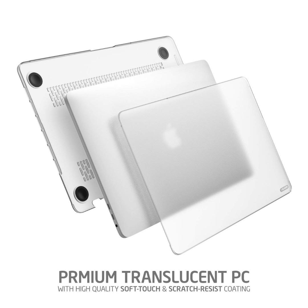 """Smooth Finished Matte Frosted Hard Shell Cover Apple MacBook Pro 13/"""" inch 2016"""
