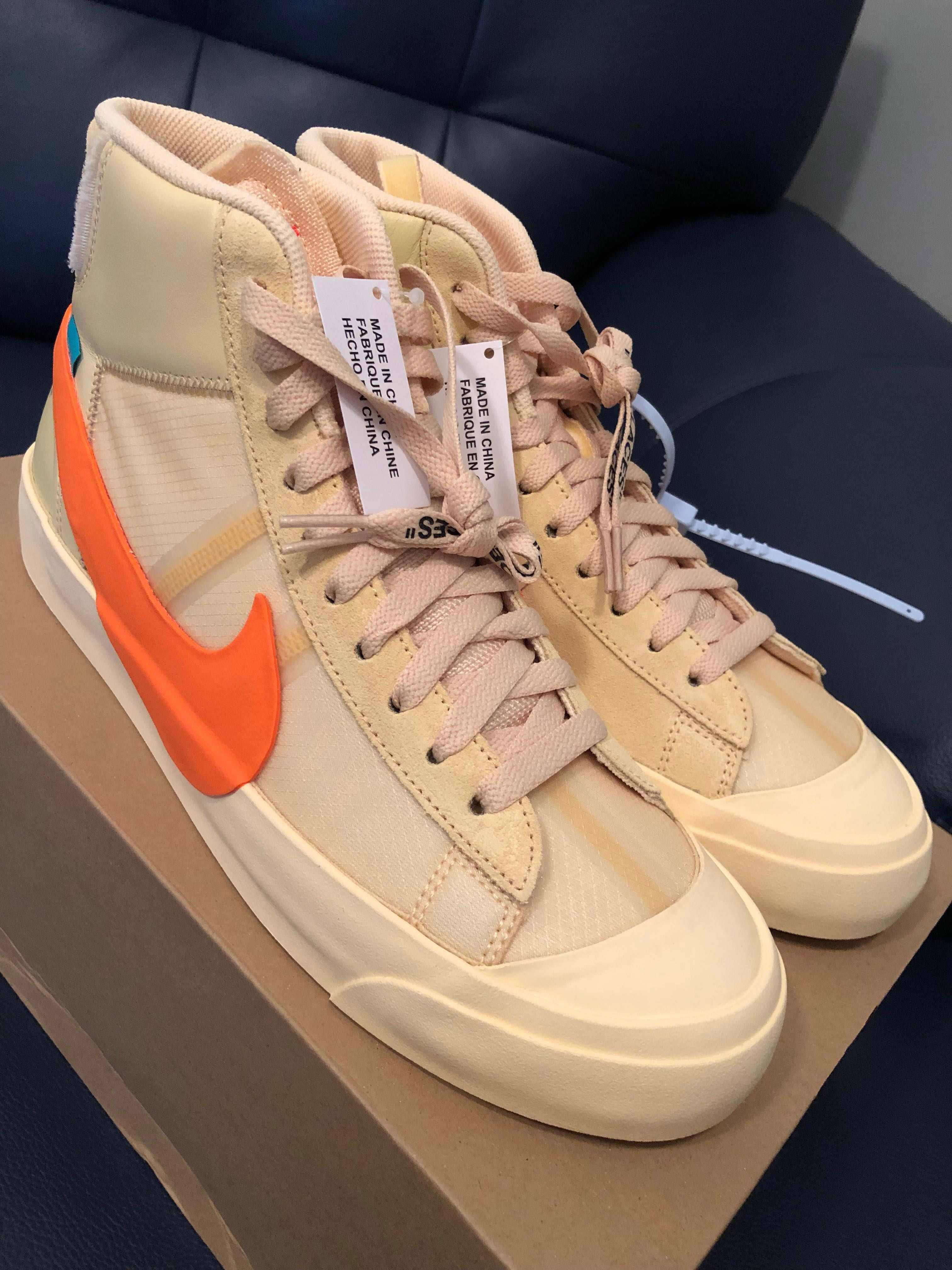 8a045a6bcf8 Nike Blazer Mid Off White All Hallow s Eve US 9.5