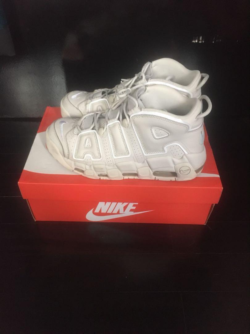 1b1898cf3bdb NIKE UPTEMPO LIGHT BONE, Men's Fashion, Footwear, Sneakers on Carousell