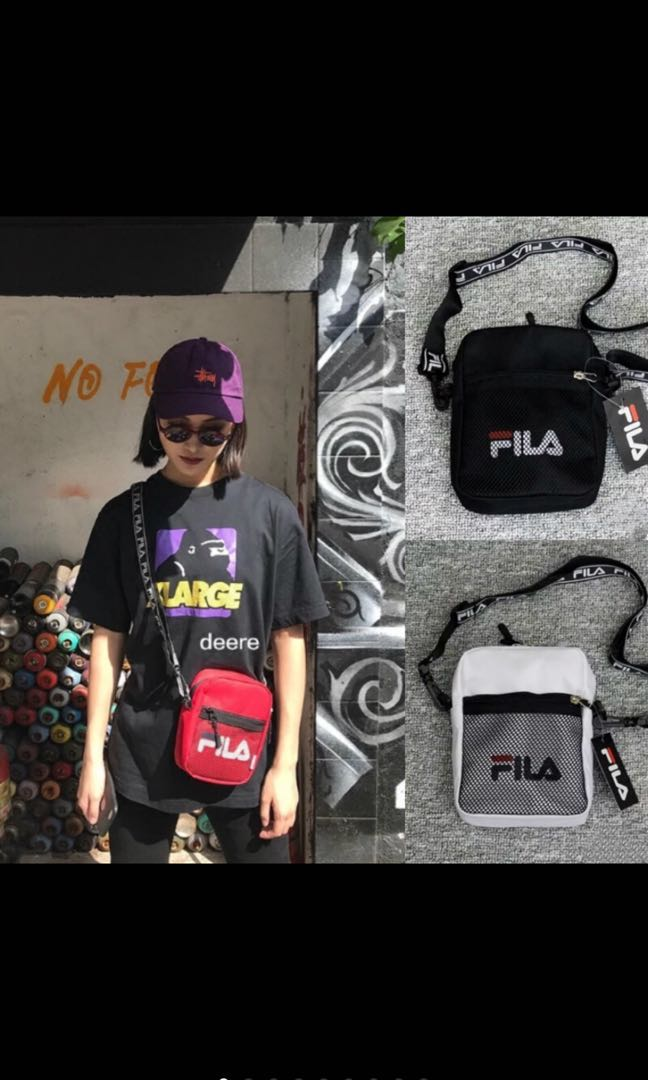 a7290441b207 PO) FILA Unisex Messenger Small Shoulder Crossbody Bag