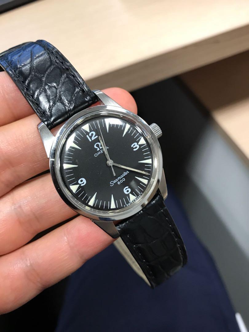 PRICE REVISED] Vintage Omega Seamaster 600, Luxury, Watches