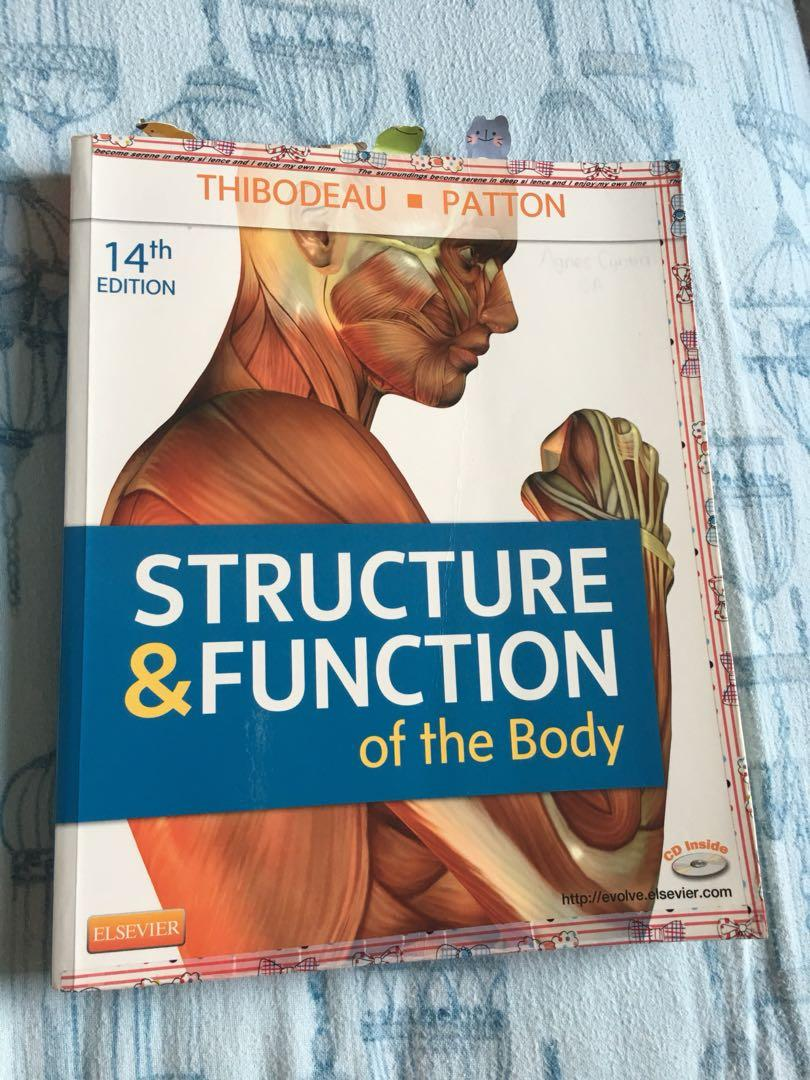 Structure and function of the body thibodeau patton 14th edition