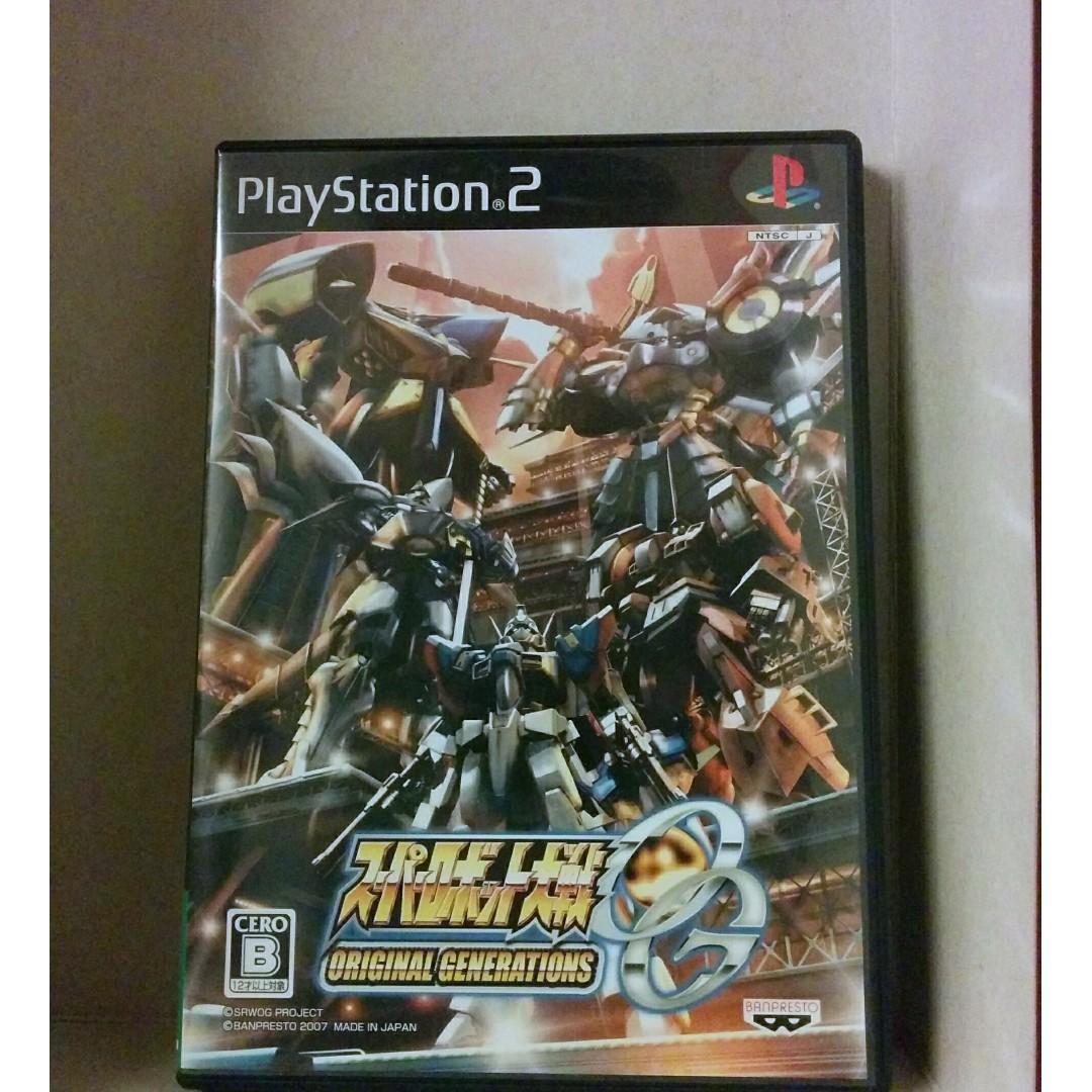 Super Robot Wars Original Generations OG Original Japan JP