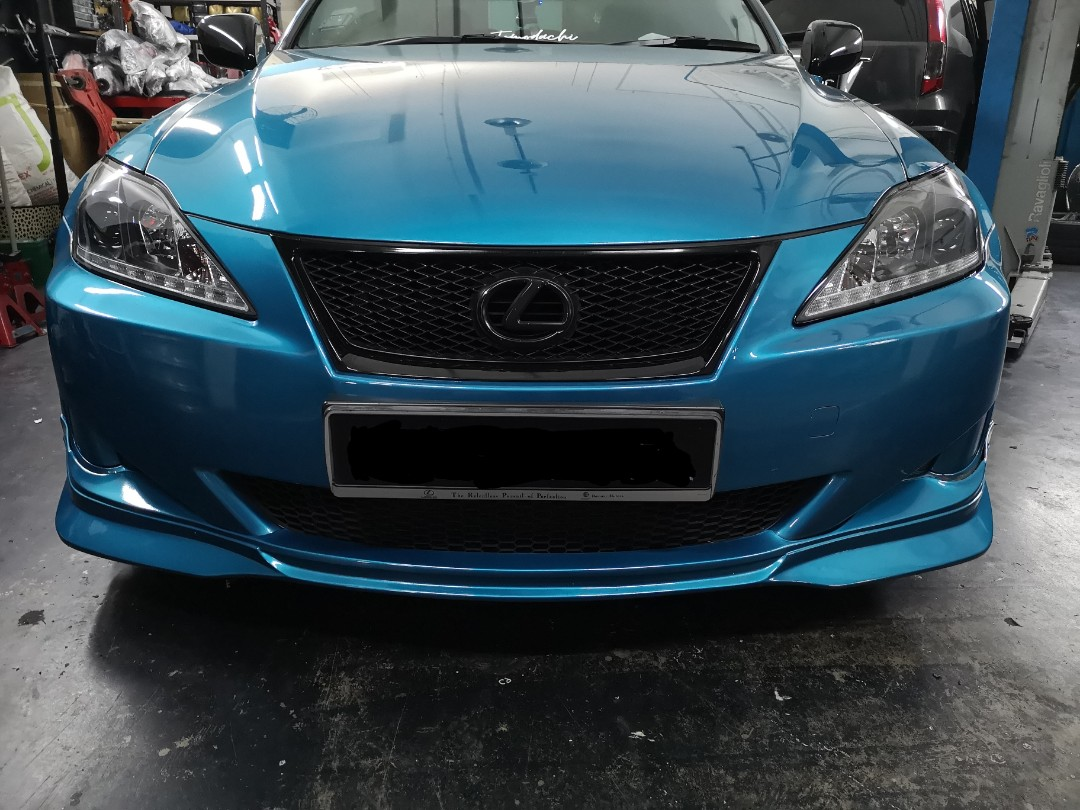 Used Lexus IS250 Front Bumper With Lip And Grill, Car