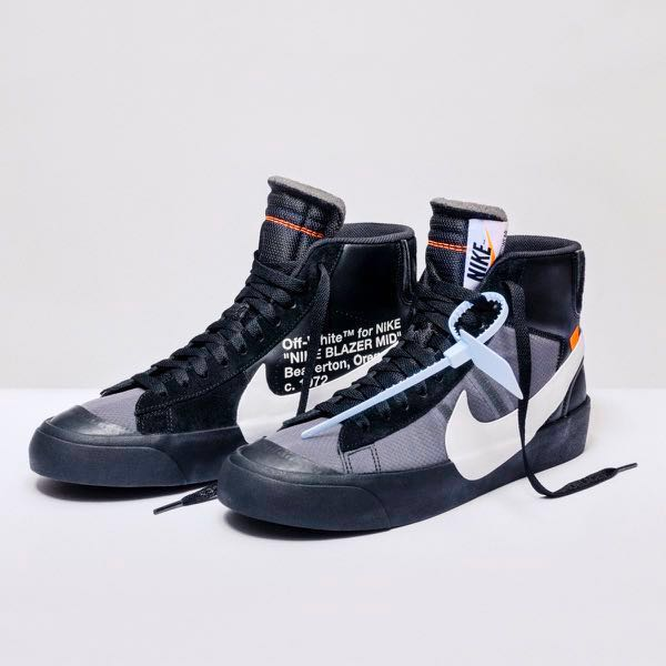 WTB Off White X Nike Blazer Grim Reaper US 8.5 b6949ead9