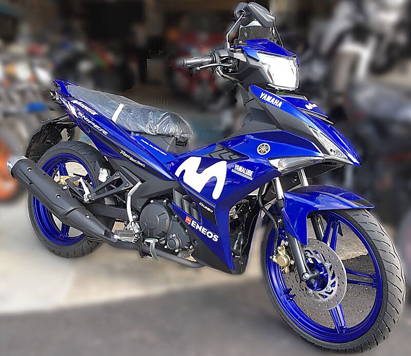 Yamaha Sniper 150 Movistar