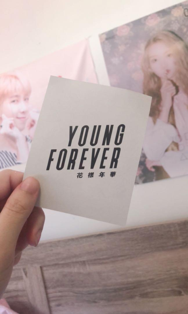 YOUNG FOREVER Group Photocard