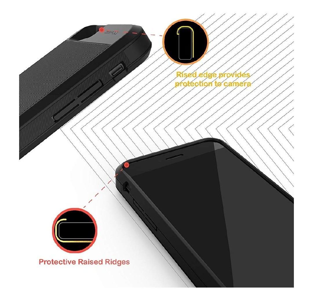 new style 67e85 fb035 ZeeHoo Ultra Slim Charging Case For iPhone 7/8 2800mAh