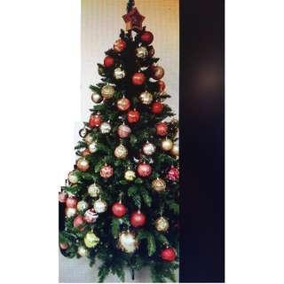 6' 聖誕樹連吊飾