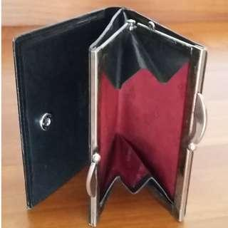 Prince Leather Wallet with Clasp