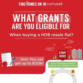 Grants for Buying a HDB Resale Flat
