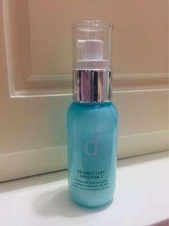 Shiseido d program emulsion I