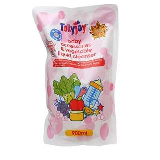 Brand New Tollyjoy Antibacterial Baby Accessories/ Bottle Liquid Cleanser 900ml