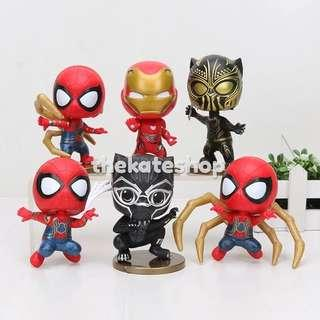 Iron Spider Black Panther Cosbaby