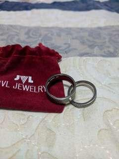 Wedding band from jvl jewelry