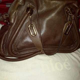 Authentic Chloe Paraty Medium Shoulder Bag