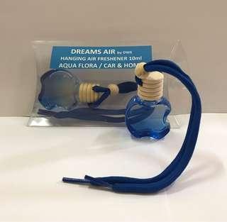 Dreams Air - Hanging Air Freshener 10ml Aqua Flora