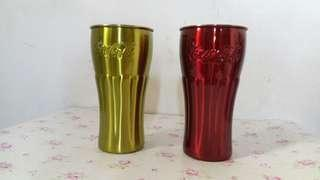 Collectible Stainless Steel Coca Cola Tumbler