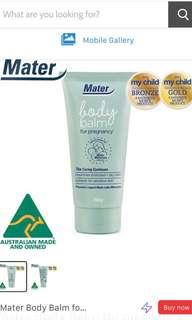 Mater Body Palm Stretch Mark creme