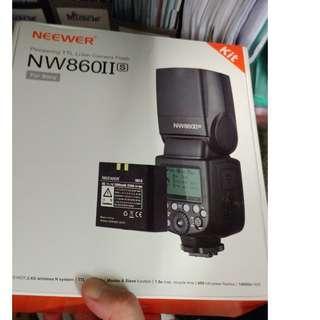 全新 Neewer NW-860 II for sony Flash 閃光燈