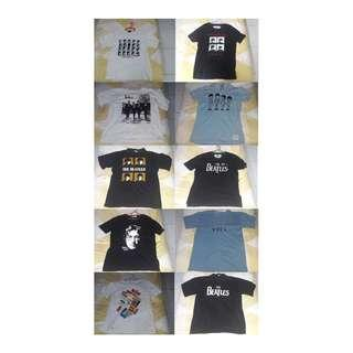 T-Shirt - The Beatles T-Shirt Bundle - 10 Pieces