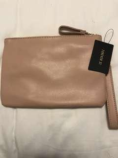 Nude Pink Forever21 Clutch
