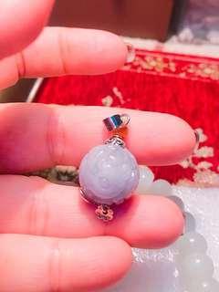 🚚 天然緬甸翡翠紫蛋