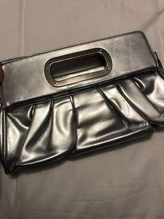 Stylish Silver Evening Clutch