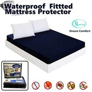 Super Single, Fitted Mattress Protector, 100% Waterproof