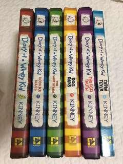 DIARY OF A WIMPY KID HB SET